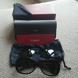 28d56d7b525 Cartier Accessories - Cartier Janis women s sunglasses
